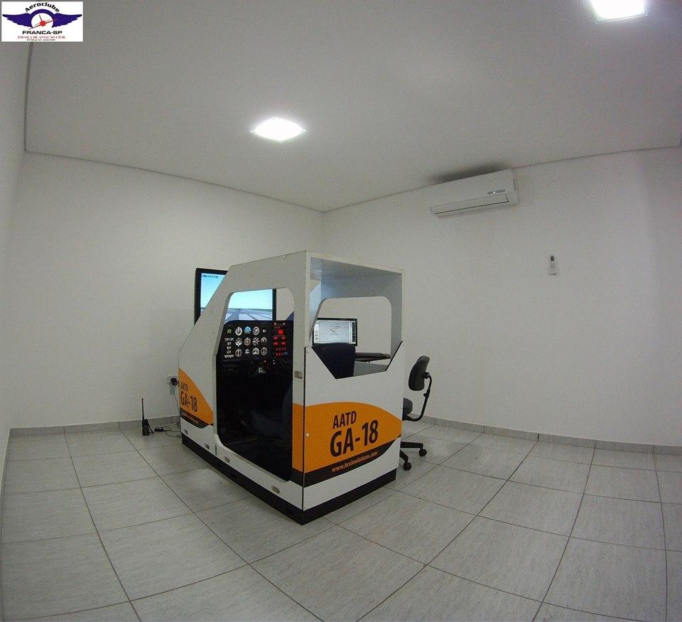 Simulador de voo IFR AATD