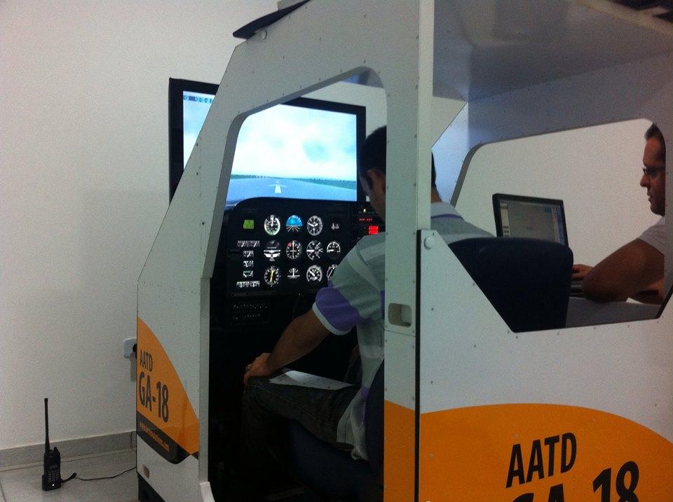 Simulador de voo IFR